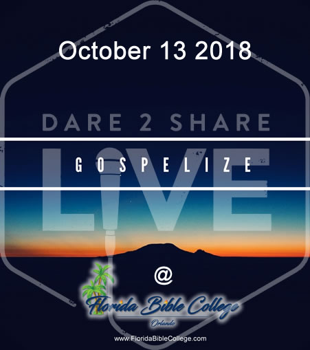 Florida Bible College - Dare 2 Share Live @ Florida Bible College